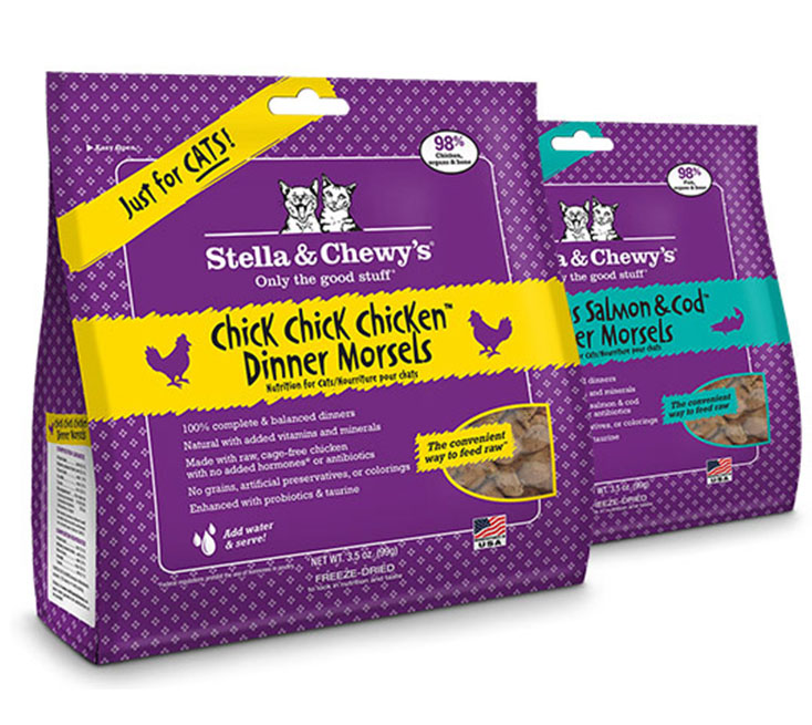 stella & chewy's cat food